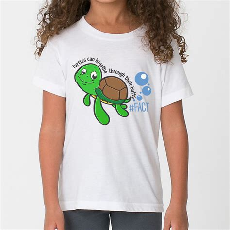 T Shirt Tees Collection Animal World 17 turtles breathe through their t shirt the fact shop