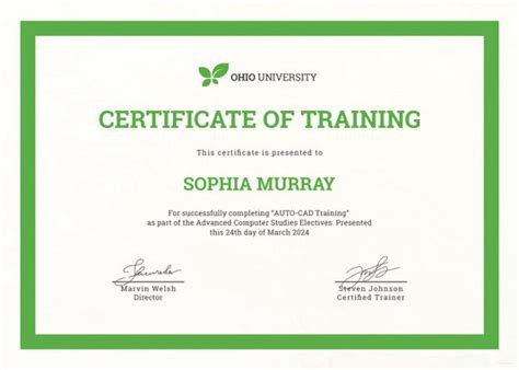 Training Certificate Template 27 Free Word Pdf Psd Format Download Free Premium Templates A Certification Template