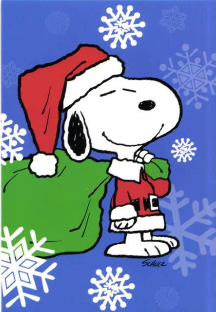 divertidas tarjetas navidenas  snoopy  compartir