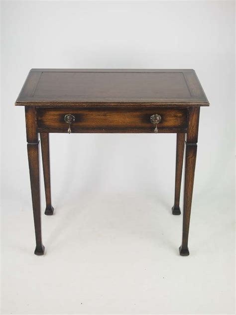 Small Writing Desks With Drawers by Small Arts Crafts Oak Desk Edwardian Vintage Single