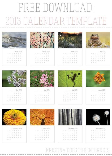 indesign calendar templates 18 best images about free indesign templates on
