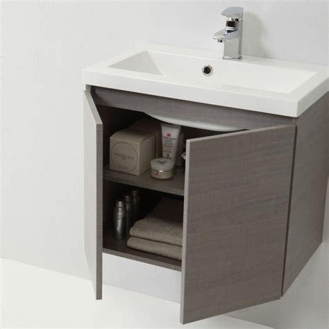 mobile bagno 60 mobile bagno 60 cm in finitura grigio modello manhattan
