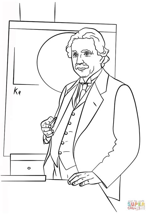 Edison Coloring Pages