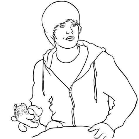 justin bieber coloring pages 2 coloring town