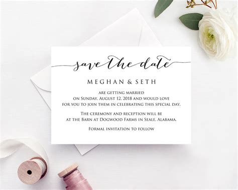diy save the date cards templates save the date wedding template 183 wedding templates and