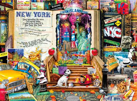 browse the puzzle shop new york life is an open book jigsaw by aimee stewart