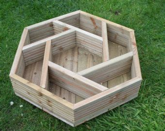 17 best images about hexagonal patio gardens planters