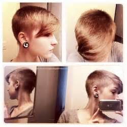 hair in the front shorter on the sides 29 cool short hairstyles for women 2015 pretty designs