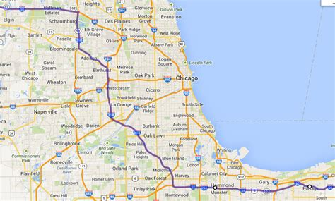 illinois tollway map i 294 tollway map images