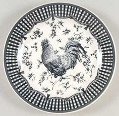 images  rooster decor  pinterest roosters fine china dinnerware  china