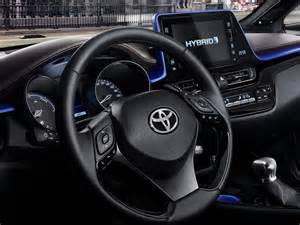 Auto Upholstery Patterns Toyota C Hr Crossover Interior Revealed Indian Cars Bikes