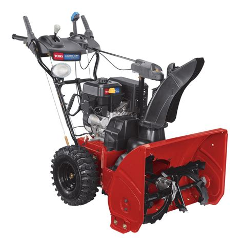 toro power max 826 oxe 26 in 252cc two stage electric