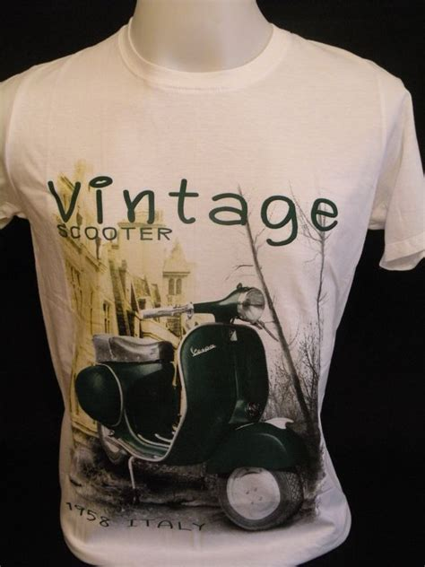 T Shirt In Roller t shirt vespa roller piaggio italy 1958 in s m l xl