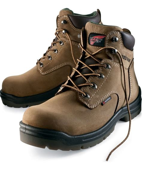 wing composite toe work boots wing men s 6 inch insulated waterproof composite toe