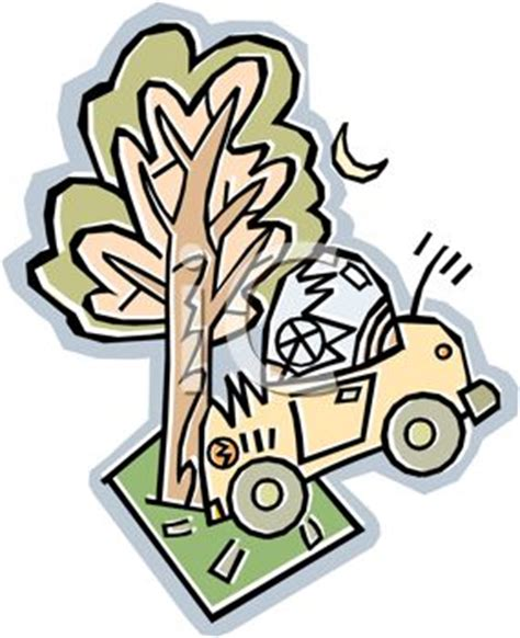 auto insurance when a tree royalty free clipart image automobile that has crashed into a tree auto insurance
