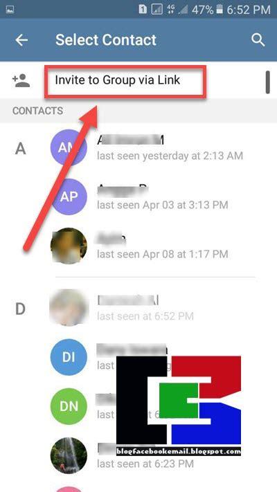 membuat share teks link grup telegram  teman