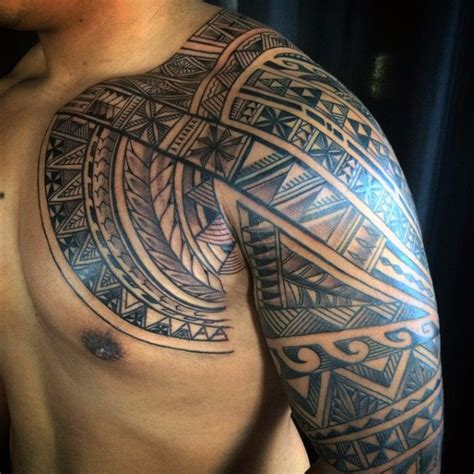 tropical tattoos for men 60 hawaiian tattoos for traditional tribal ink ideas