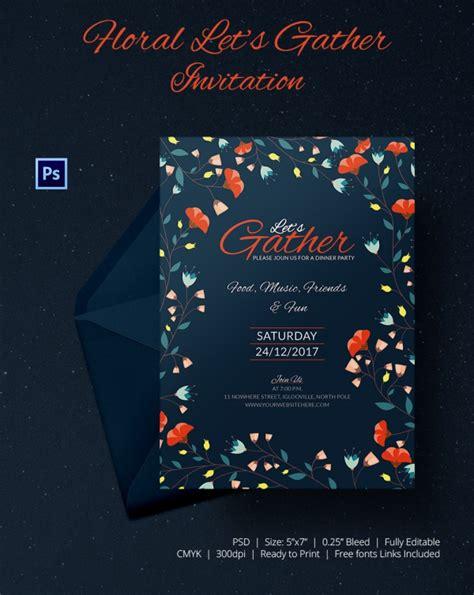 get together invitation card template get together invitation template 25 free psd pdf