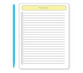 Web App Homepage Design To Do List Vectors Clipart Me