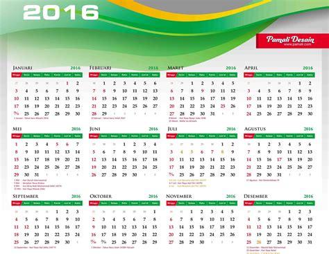 Calendar J K 2016 Kalender Tahun 2016 Beserta Jadwal Tanggal Hari Libur