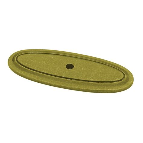 brass cabinet knob backplate amerock traditional brass and sterling burnished brass