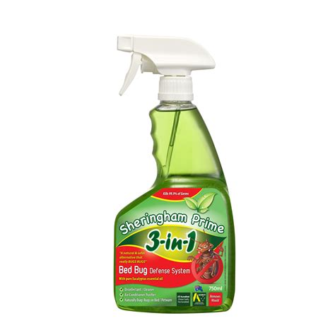 bed bug defense sheringham prime 3 in 1 bed bug defense system 750ml the australian made caign