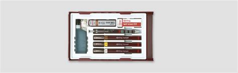 Best Quality Rotring Isograph College Set Master Set 0 1 0 3 0 5 Isograph Set Buy At Rotring