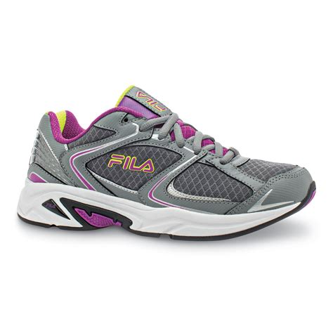 sears womens athletic shoes fila s thunderfire running shoe shoes s