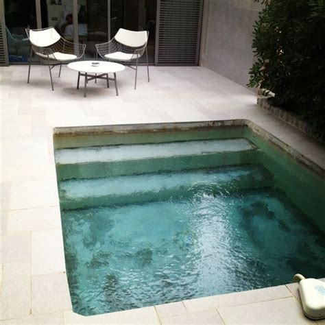 17 best ideas about mini pool on plunge pool