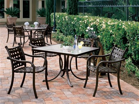 Tropitone Cast Aluminum 42 Square Dining Table 1877a Tropitone Patio Table