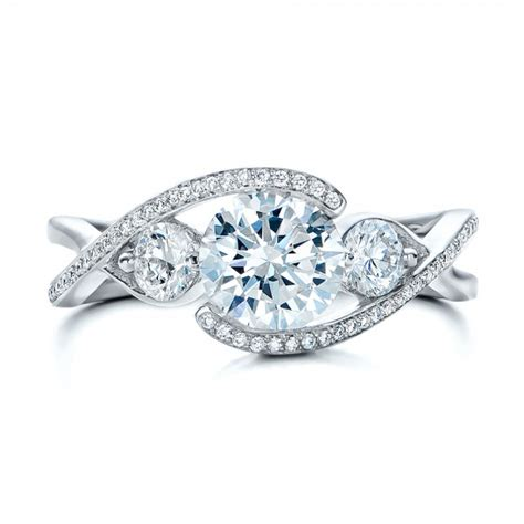 custom wrap engagement ring 101472
