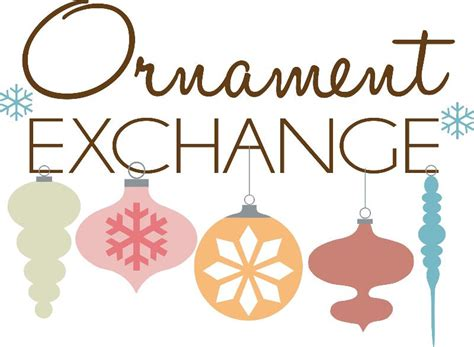 alternativebto exchanging christmas ornaments ornament exchange friendly avenue church of