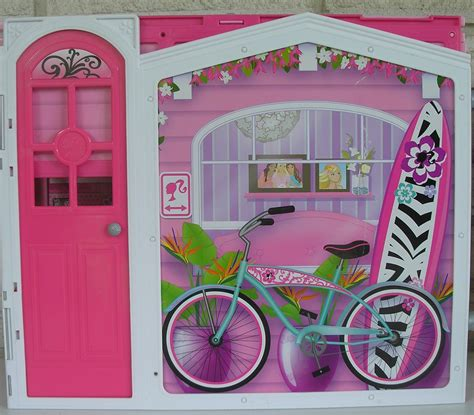 barbie folding doll house barbie doll fold out doll house structures furniture