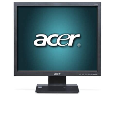 Monitor Lcd Acer V173 acer v173 djbd 17 lcd monitor 1280x1024 20000 1 dynamic 5ms vga dvi black at tigerdirect