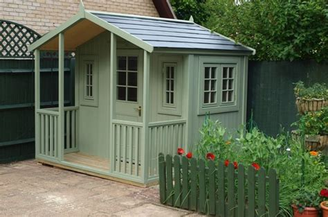 shed with veranda