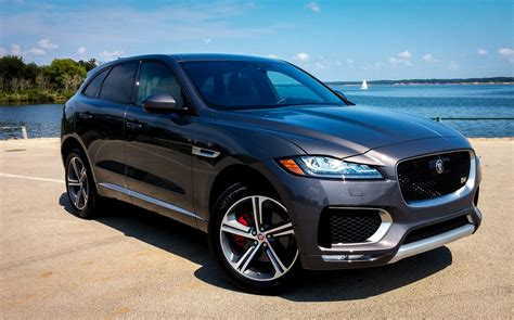 jaguar f pace inside car pro test drive 2017 jaguar f pace review
