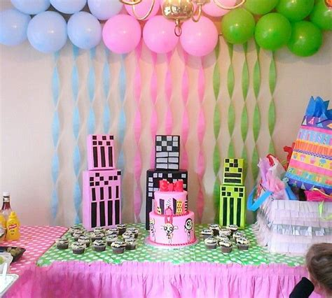 birthday themes ideas for girl powerpuff girls party 3rd birthday party my daughters
