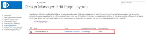 editing page layout in sharepoint 2013 create custom page layouts in sharepoint 2013 explore