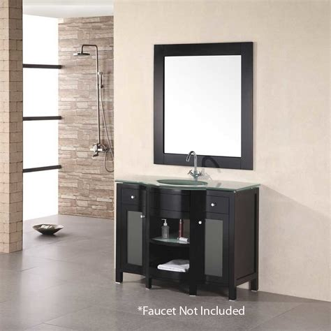 Design Element Bathroom Vanities by Design Element 43 Quot Rome Single Sink Bathroom Vanity