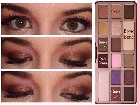 eyeshadow tutorial chocolate bar 5 too faced chocolate bar palette looks makeup diva md