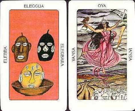 santeria meanings tarot of the orishas