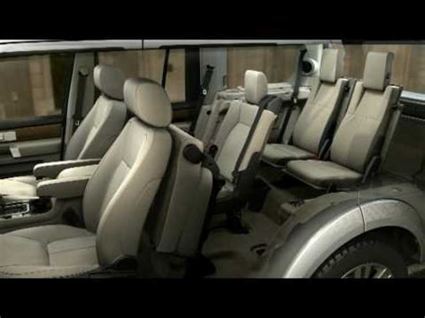 seven seater range rover 2011 land rover discovery 4 lr4 demonstration of the