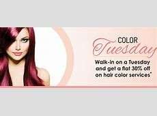Color Tuesday means a flat 30% discount at Play Salon L'oreal India