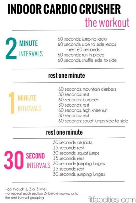 At Home Cardio Hiit Workout Rockin Glute For For
