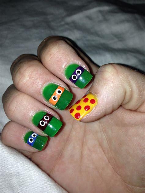 Mutant Turtles Nail