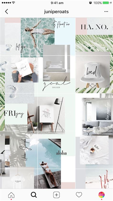 layout grid tips 9 types of instagram grid layouts planner tips