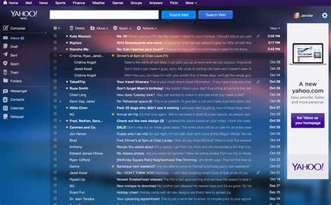 yahoo mail different layout yahoo mail completa 16 anos ganha um novo layout moderno