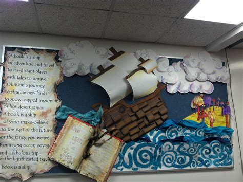 library book themed displays library bulletin board library pinterest library