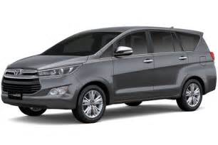 new innova car price toyota launches all new 2016 innova in indonesia w