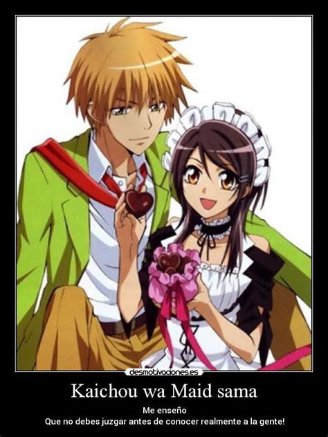 imagenes de anime kaichou wa maid sama kaichou wa maid sama desmotivaciones